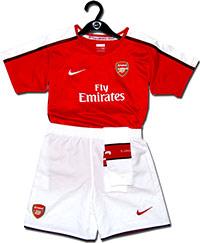 Форма детская Арсенал 08-09 Nike