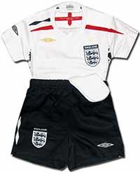 Форма детская сборной Англии 07-09 Umbro