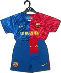 Форма детская Барселона 08-09 Nike