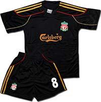 Форма детская Ливерпуль черная
