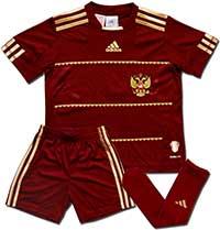 Форма детская сборной России 10-11 Adidas