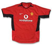 Майка домашняя Манчестер Юнайтед 02-04 Nike