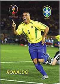 Открытка Роналдо желт (Бразилия)