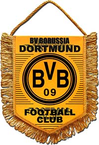 Вымпел Боруссия Дортмунд 22 х 17