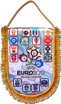 Вымпел EURO2012 32 х 23