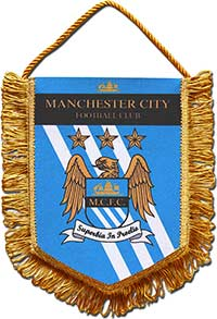 Вымпел 1 Манчестер Сити 22 х 17