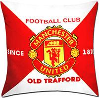 Подушка Манчестер Юнайтед Эмблема 2