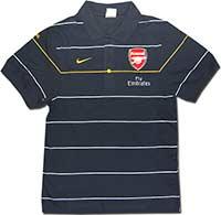 Поло темно-синее Арсенал 08-09 Nike