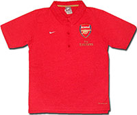 Поло красное Арсенал 08 Nike