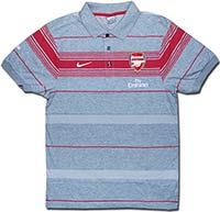 Поло серое Арсенал 09 Nike