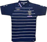 Поло темно-синее сборной Англии Stripe 08-09 Umbro