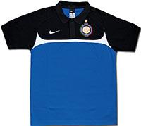 Поло голубое Интер 2010 Nike