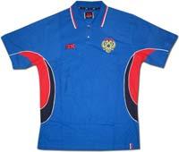 Поло синее Россия 2К
