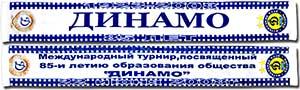 Шарф летний Динамо (Киев)