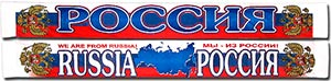 Шарф летний Россия 3