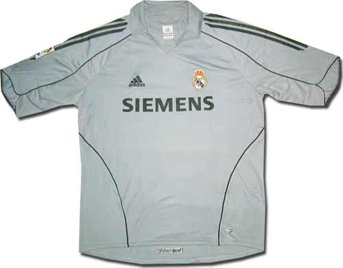 Майка третья Реал 05-06 Adidas.