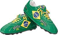 Тапочки в виде бутс Бразилия