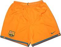 Трусы выездные Барселона 06-07 Nike