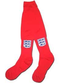 Гетры красные сборной Англии