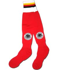 Гетры красные сборной Германии
