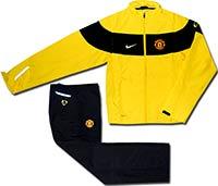 Костюм спортивный Манчестер Юнайтед 09-10 Nike желтый
