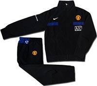 Костюм подростковый Манчестер Юнайтед 09 Nike черный