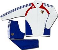 Костюм подростковый сборной России 09-10 Adidas