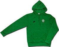 Толстовка зеленая Селтик 08-09 Nike