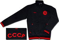 Олимпийка черная СССР 09 Umbro