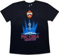 Футболка темно-синяя ЦСКА Лига Чемпионов