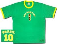 Футболка Бразилия World Cup 06 Adidas