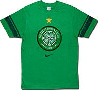 Футболка хлопковая Селтик 08-09 Nike