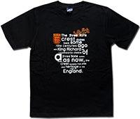 Футболка черная Англия King Richard 09 Umbro