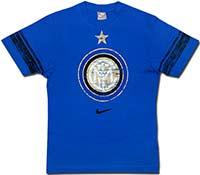 Футболка хлопковая Интер 08-09 Nike