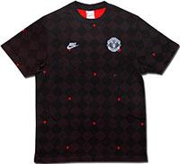 Футболка черная Манчестер Юнайтед 09 Nike