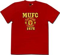 Футболка хлопковая Манчестер Юнайтед