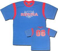 Футболка синяя Россия 07 Umbro