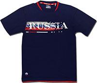 Футболка темно-синяя Россия Print 08-09 Umbro
