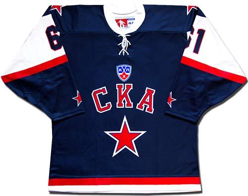 Свитер хоккейный ска 11-12 луч реплика.